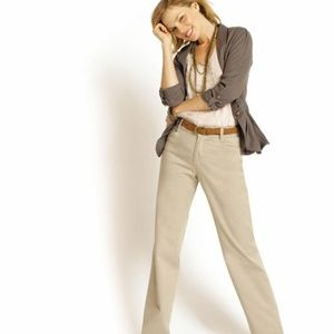Lee Relaxed Fit Straight Leg Twill Mid-Rise Pants